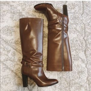 FINAL PRICE - Burberry | Heeled Leather Boots